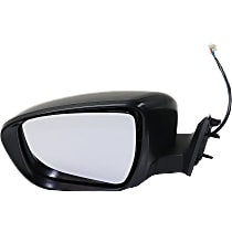 Mirror - Driver Side, Power, Paintable, For Korea Or US Built Models