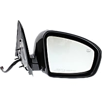 Mirror - Passenger Side, Power, Heated, Paintable, w/ Memory, Models Without Around View Monitor