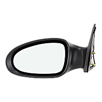 Mirror Non-Heated - Driver Side, Power Glass, Paintable