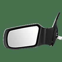 Mirror - Driver Side, Power, Paintable, For Sedan