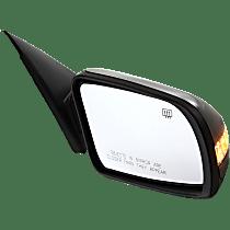 Mirror - Passenger Side, Power, Folding, Heated, Folding, Paintable, With Turn Signal, For Sedan