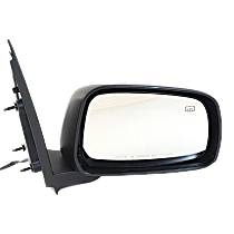 Mirror - Passenger Side, Power, Heated, Folding, Paintable, For Crew Cab