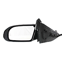 Mirror - Driver Side, Power, Heated, Paintable, With Turn Signal, For Models With Premium Package