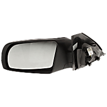 Mirror - Driver Side, Power, Folding, Paintable, With Turn Signal, For Coupe
