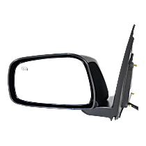 Mirror - Driver Side, Power, Heated, Paintable, For Crew Cab