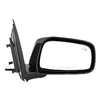 Mirror - Passenger Side, Power, Heated, Paintable, For Crew Cab