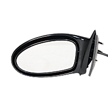 Mirror - Driver Side, Power, Folding, Paintable, Spring Type