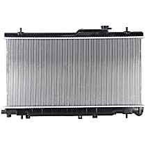 Aluminum Core Plastic Tank Radiator, 27.06 in. W x 13.38 in. H x 0.63 in. D Core Size