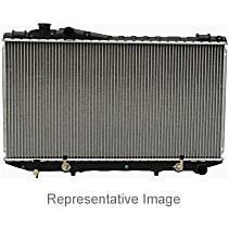 Aluminum Core Plastic Tank Radiator, 17.56 in. W x 25.19 in. H x 1 in. D Core Size