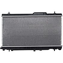 Aluminum Core Plastic Tank Radiator, 27.19 in. W x 13.38 in. H x 0.63 in. D Core Size
