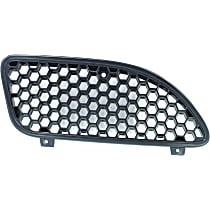 Grille Assembly - Black Shell and Insert, Passenger Side