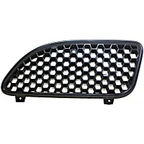 Grille Assembly - Black Shell and Insert, Driver Side