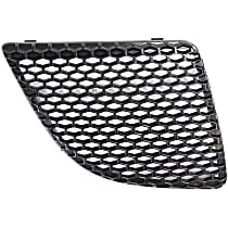 Grille Assembly - Textured Black Shell and Insert, Passenger Side
