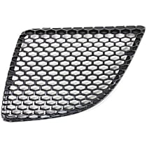Grille Assembly - Textured Black Shell and Insert, Driver Side