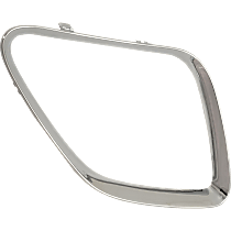 Passenger Side Grille Trim - Chrome