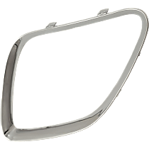 Driver Side Grille Trim - Chrome