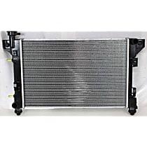 Aluminum Core Plastic Tank Radiator, 22.31 x 14.5 x 1 in. Core Size