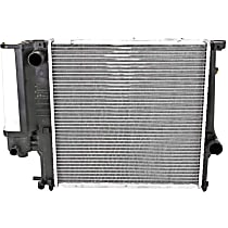 Radiator, Fits Manual Transmission Only