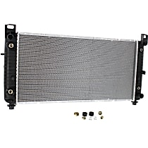 Radiator, 34x17 Inch Core, With Engine Oil Cooler