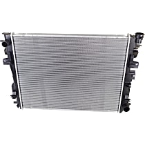 Radiator, Fits Automatic Transmission, All Cab Types