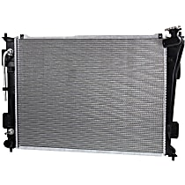 Radiator, 2.4L, Excludes Hybrid