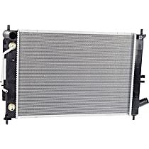Radiator, Excludes Hatchback