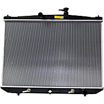 Radiator, Without Engine Oil Cooler
