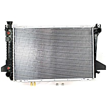 Radiator - 27.57 x 18.13 x 1 in. Core Size, 8 Cyl Engine