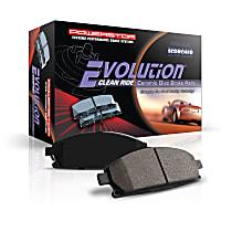 Powerstop Front Brake Pad Set - Z16 Evolution Ceramic Replacement 2-Wheel Set, Ceramic