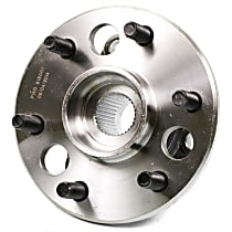 SureStop Front, Driver or Passenger Side Replacement Wheel Hub - 1-Piece, 4WD Models (6 Lugs)