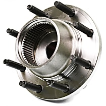 SureStop Front, Driver or Passenger Side Replacement Wheel Hub - 1-Piece, 4WD Models With 2-Wheel ABS Built After 3/22/99