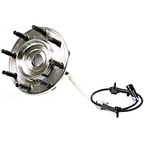 SureStop Front, Driver or Passenger Side Replacement Wheel Hub - 1-Piece, 4WD Models With Single Rear Wheel