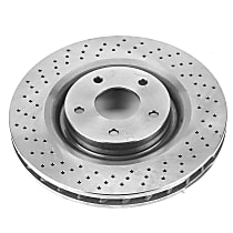 Power Stop® AR82100 Front OE Stock Replacement Brake Rotor