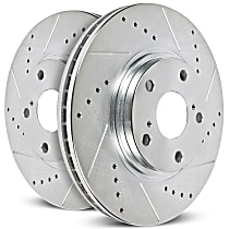 Power Stop® AR83074EVC Front OR Rear Genuine Geomet® Coated Rotor