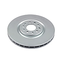 Power Stop® AR83087EVC Front Genuine Geomet® Coated Rotor