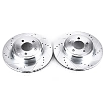Rear Driver And Passenger Side Brake Disc