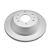 AR8647EVC Rear Genuine Geomet® Coated Rotor
