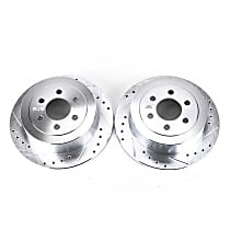 AR8762XPR Rear Drilled, Slotted and Zinc Plated Brake Rotors