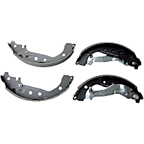 Power Stop® B1070L Rear Autospecialty Brake Shoes