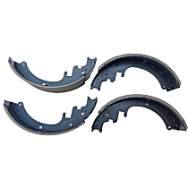 B452 Rear Autospecialty Brake Shoes