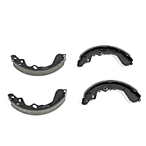 Power Stop® B667 Rear Autospecialty Brake Shoes