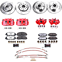 BBK-JL-002R Front and Rear Big Brake Conversion Kit