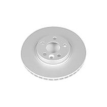 Power Stop® EBR1000EVC Front Genuine Geomet® Coated Rotor