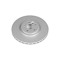 Power Stop® EBR1002EVC Front Genuine Geomet® Coated Rotor