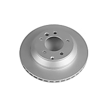 Rear Genuine Geomet® Coated Rotor