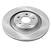 Rear OE Stock Replacement Brake Rotor