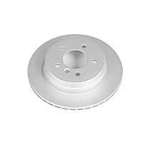 Power Stop® EBR1019EVC Rear Genuine Geomet® Coated Rotor