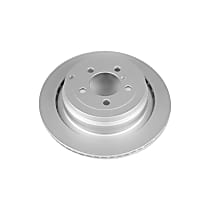 Power Stop® EBR1045EVC Rear Genuine Geomet® Coated Rotor