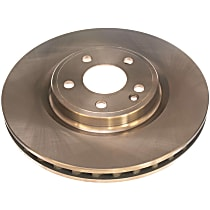 EBR1487 Autospecialty By Powerstop Front Driver or Passenger Side Brake Disc