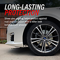 Power Stop® EBR1643XPR Rear Drilled, Slotted and Zinc Plated Brake Rotors